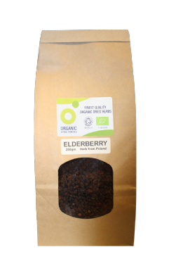 Organic Elderberry 250gm